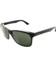 RayBan Rb4181 57 Highstreet сверху матовый черный на trasp серые 6130 солнцезащитные очки
