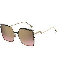 Fendi Дамы ff 0259-s 2o5 53 темные очки