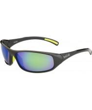 Bolle Crest блестящий антрацит-коричневый изумрудные очки