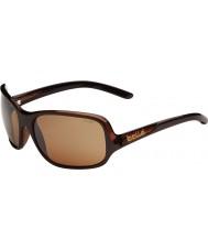 Bolle Kassia блестящий шоколад поляризованный песчаника пистолет очки