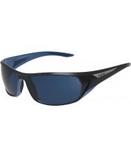 Bolle Blacktail блестящие черные голубые поляризованные очки синие морские