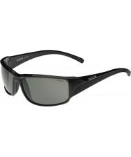 Bolle Keelback блестящий черный модулятор поляризованный серые очки