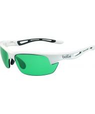 Bolle Болта сек блестящий белый competivision пистолет теннисные очки