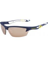 Bolle Болт чашки Ryder голубой желтый модулятор v3 гольф очки