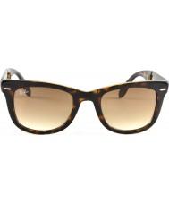 RayBan Rb4105 50 складной путник свет черепаховый 710-51 очки