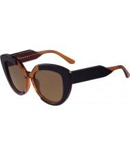 Marni Дамы me601s синие и оранжевые очки