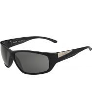 Bolle Киль блестящий черный модулятор поляризованный серые очки