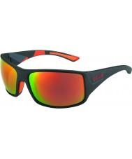 Bolle Тигровая змея матовый черный камуфляжные поляризованный ТНС огонь солнцезащитные очки