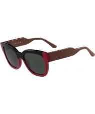 Marni Дамский me604s черные и красные очки