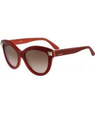 Valentino Дамы v695s английские красные очки