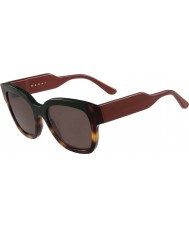 Marni Дамский me604s зеленые и Гаваной очки