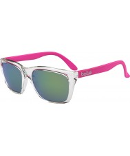 Bolle 527 ретро-коллекция блестящий кристалл розовый коричневый изумрудные очки