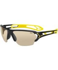 Cebe S-трек большие блестящие черные очки