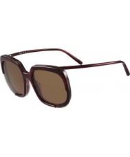 Marni Дамы me608s бордо и Гаваной очки