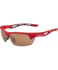 Bolle Болта сек блестящий красный модулятор v3 гольф очки