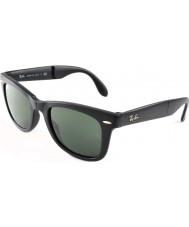 RayBan Rb4105 50 складных путник матовый черный 601S солнцезащитные очки