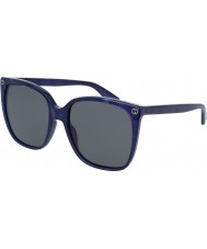 Gucci Дамский gg0022s 005 солнцезащитные очки
