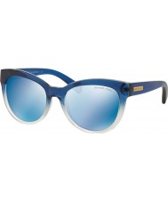 Michael Kors Mk6035 53 Mitzi I синий затененных 312255 синие зеркальные солнечные очки