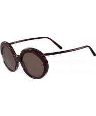 Marni Дамы me609s бордо и Гаваной очки