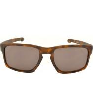 Oakley Oo9262-03 Щепка матовый коричневый черепаховый - теплые серые очки