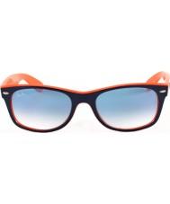 RayBan Rb2132 52 новый путник топ сине-оранжевые 789-3f солнцезащитные очки
