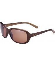 Bolle Молли матовые шоколад поляризованный песчаник пистолет солнцезащитные очки