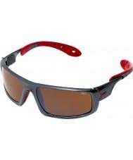 Cebe Лед 8000 темно-серые красные очки