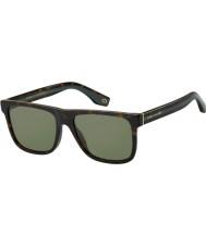 Marc Jacobs Мужская марка 275 с 086 qt 55 солнцезащитные очки