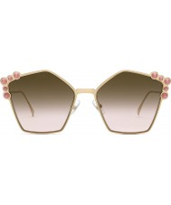 Fendi Дамы ff0261 s 0 53 57 могут солнцезащитные очки для глаз