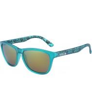 Bolle 437 ретро-коллекция матовый бирюзовый поляризованным-коричневый изумрудные очки