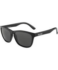 Bolle 437 ретро-коллекция блестящий черный поляризованные очки ТНС