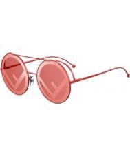 Fendi Дамы ff0285 s c9a 0l 63 сбегают солнцезащитные очки