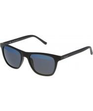 Police Мужская горячий 1 s1936v-u28b матовый черный зеркальные голубые очки