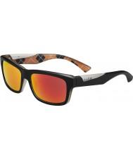 Bolle Jude матовый черный оранжевый поляризованный ТНС огонь солнцезащитные очки