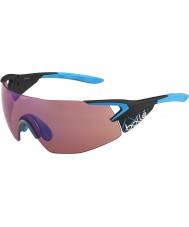 Bolle 5-ый элемент про матовые углерода синий розово-голубые очки