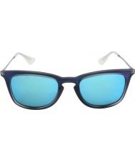 RayBan Rb4221 50 мальчик выстрелил синий каучук 617055 солнцезащитные очки