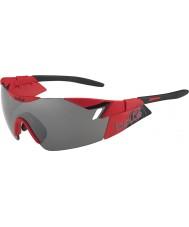 Bolle 6-е чувство матовый красный черный ТНС пистолет солнцезащитные очки