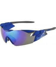 Bolle 6-е чувство сек матовый темно-сине-фиолетовые солнцезащитные очки