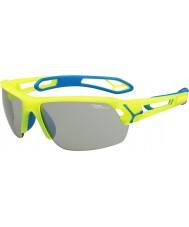 Cebe Cbstmpro s-track m желтые солнцезащитные очки