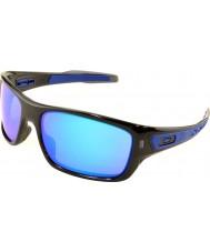 Oakley Oo9263-05 турбина черные чернила - сапфировое иридия солнцезащитные очки