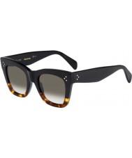 Celine Дамы кл 41090-S FU5 Z3 черные очки черепаховой