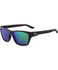 Cebe Хакер блестящий черный зеленый 1500 серый вспышка зеркало зеленые очки