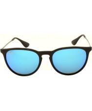 RayBan Rb4171 54 Erika черный 601-55 синий зеркальные солнечные очки