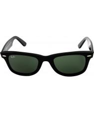 RayBan Rb2140 оригинальный wayfarer черный - зеленый
