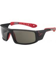 Cebe Лед 8000 матовый черный красный variochrom пик солнцезащитные очки