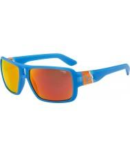 Cebe Lam матовый синий оранжевый поляризованных солнцезащитных очков