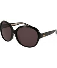 Gucci Дамы gg0080sk 001 солнцезащитные очки