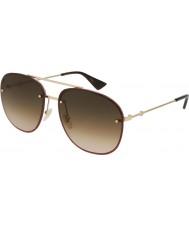 Gucci Мужские солнцезащитные очки gg0227s 003 62