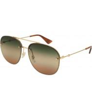 Gucci Мужские солнцезащитные очки gg0227s 004 62