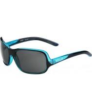 Bolle Kassia блестящий черный синий поляризованные очки ТНС